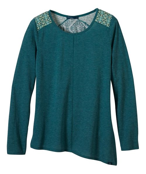 Womens prAna Jivani Non-Technical Tops - Green S