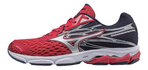 Mens Mizuno Wave Catalyst 2 Running Shoe - Red/Silver 11