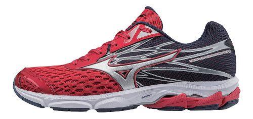 Mens Mizuno Wave Catalyst 2 Running Shoe - Red/Silver 12