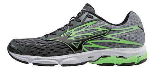 Mens Mizuno Wave Catalyst 2 Running Shoe - Dark Shadow/Green 12