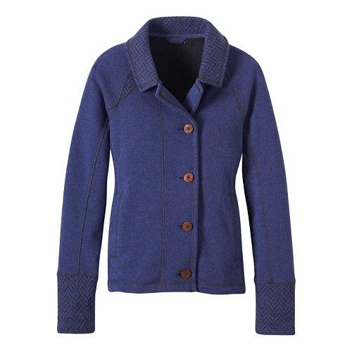 Womens prAna Lucia Casual Jackets - Blue XL