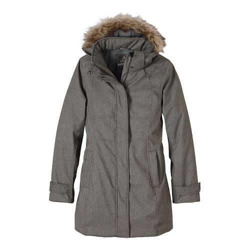 Womens prAna Maja Jackets - Beige XL