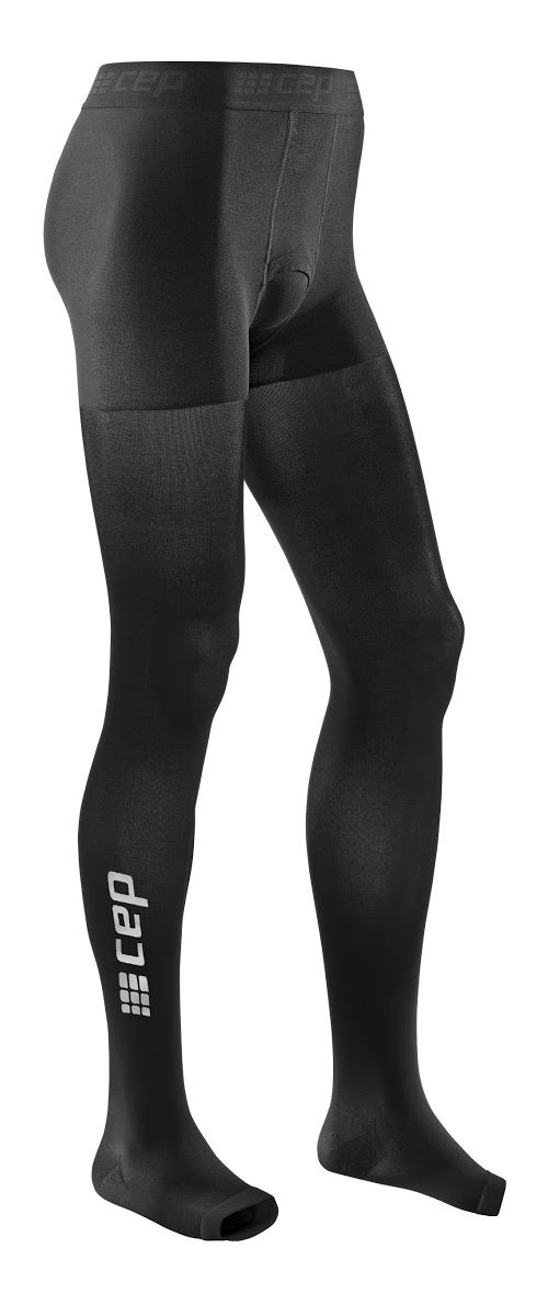 Mens CEP Recovery+ Pro Tights Pants - Black M