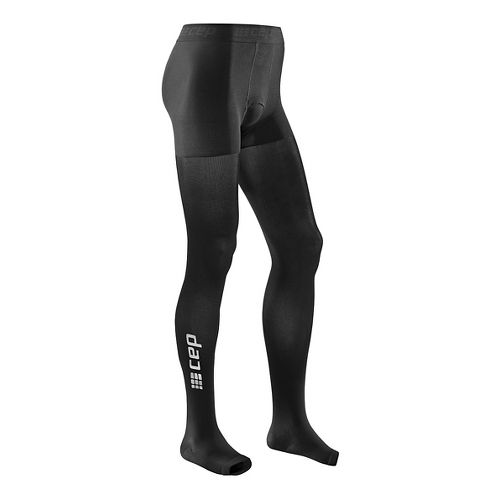 Mens CEP Recovery+ Pro Tights Pants - Black XL