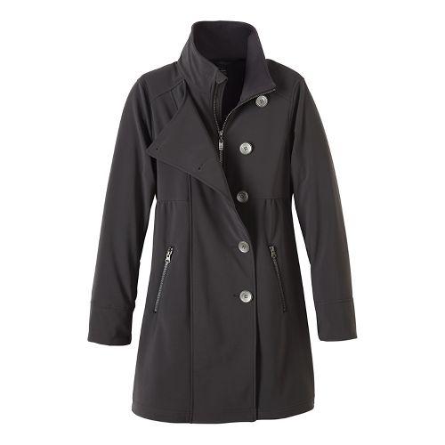 Womens prAna Martina Long Cold Weather Jackets - Grey XL
