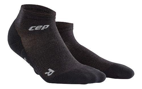 Womens CEP Dynamic+ Outdoor Light Merino Low-Cut Sock Injury Recovery - Lava Stone S
