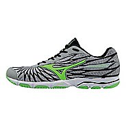 Mens Mizuno Wave Hitogami 4 Running Shoe - Grey/Green 7.5