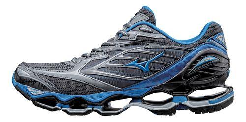 Mens Mizuno Wave Prophecy 6 Running Shoe - Grey/Blue 10