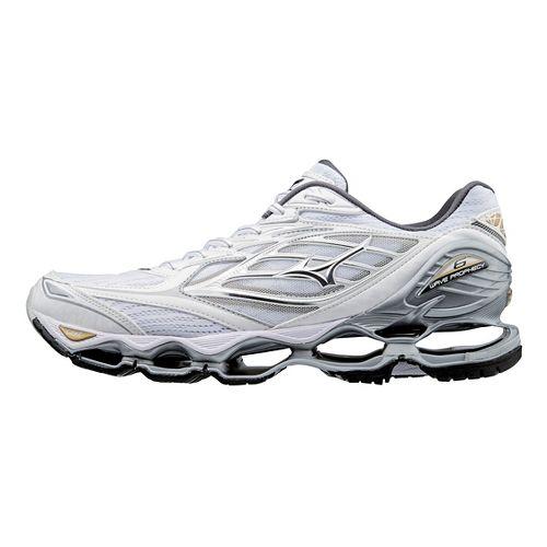 Mens Mizuno Wave Prophecy 6 Running Shoe - Grey/Blue 7