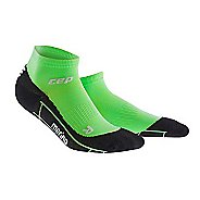Womens CEP Dynamic+ Run Merino Low-Cut Sock Injury Recovery - Viper/Black M