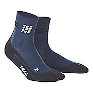 Womens CEP Dynamic+ Run Merino Short Sock Injury Recovery - Navy/Black M