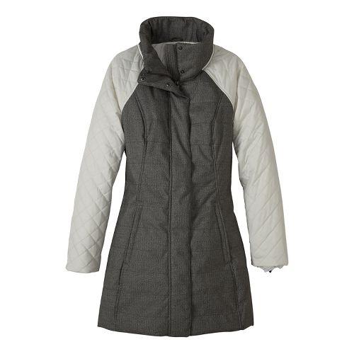 Womens prAna Mixer Parka Cold Weather Jackets - Beige L