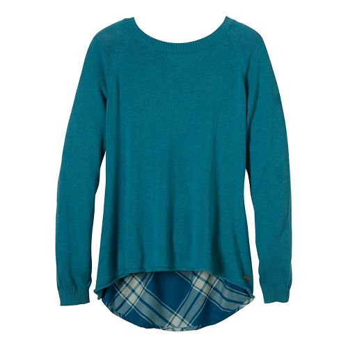 Womens prAna Natalia Sweater Long Sleeve Non-Technical Tops - Black M