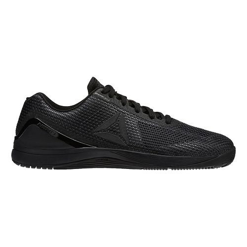 Mens Reebok CrossFit Nano 7.0 Cross Training Shoe - Black/Black 10.5