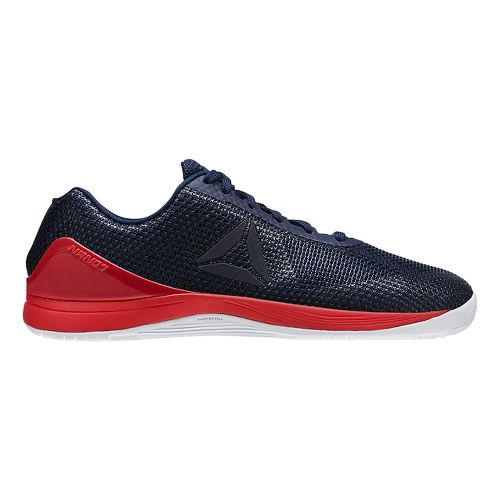 Mens Reebok CrossFit Nano 7.0 Cross Training Shoe - Navy/Red 10