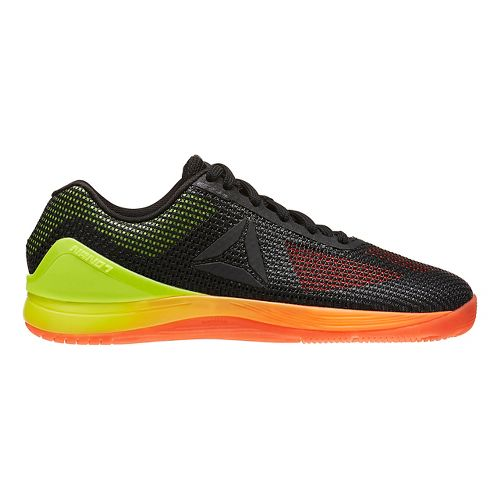 Womens Reebok CrossFit Nano 7.0 Cross Training Shoe - Black/Vitamin C 8.5
