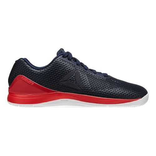 Womens Reebok CrossFit Nano 7.0 Cross Training Shoe - Navy/Red 9