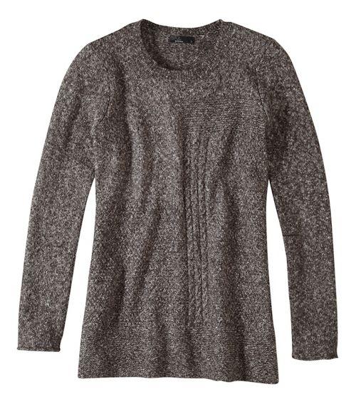 Womens prAna Nolan Sweater Long Sleeve Non-Technical Tops - Grey XS