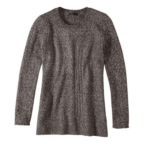 Womens prAna Nolan Sweater Long Sleeve Non-Technical Tops - Grey M