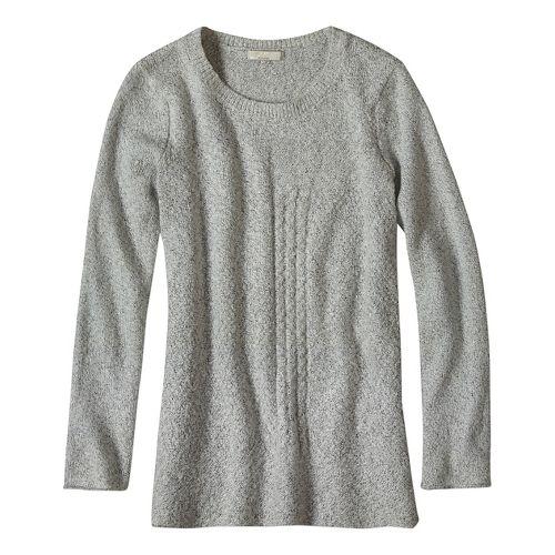 Womens prAna Nolan Sweater Long Sleeve Non-Technical Tops - White M