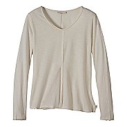 Womens prAna Romina Long Sleeve Non-Technical Tops