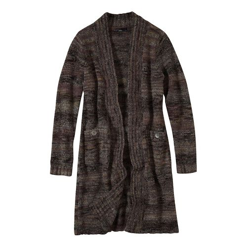 Womens prAna Sabina Duster Casual Jackets - Black S