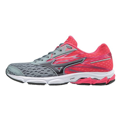 Womens Mizuno Wave Catalyst 2 Running Shoe - Magnet/Pink 10.5