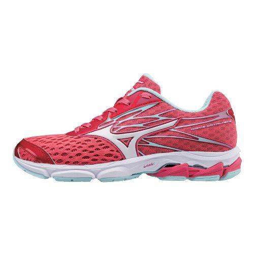 Womens Mizuno Wave Catalyst 2 Running Shoe - Pink/White 10.5