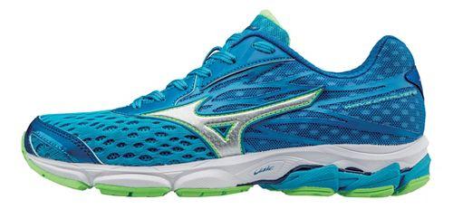 Womens Mizuno Wave Catalyst 2 Running Shoe - Atomic Blue/Green 8.5