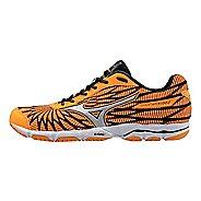 Womens Mizuno Wave Hitogami 4 Running Shoe - Orange/Black 6