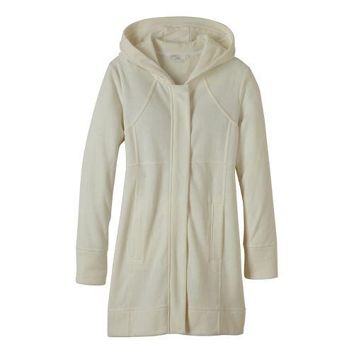 Womens prAna Tavi Cold Weather Jackets - White L