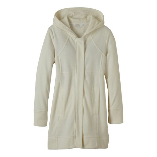 Womens prAna Tavi Cold Weather Jackets - White XL