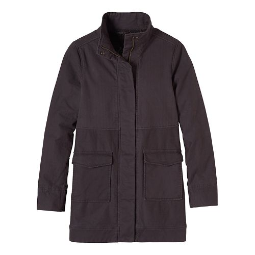 Womens prAna Trip Cold Weather Jackets - Black M