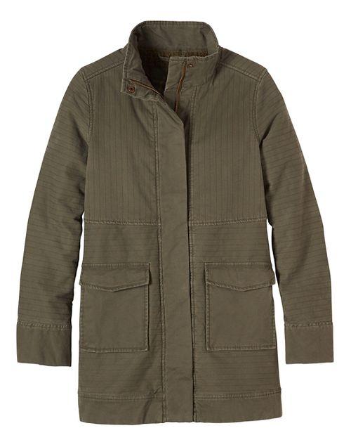 Womens prAna Trip Cold Weather Jackets - Green M