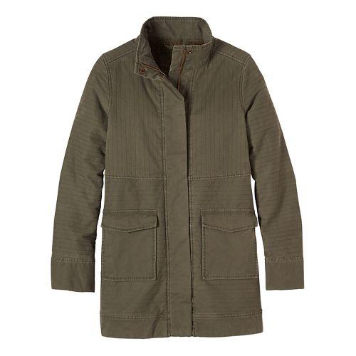 Womens prAna Trip Cold Weather Jackets - Green XS
