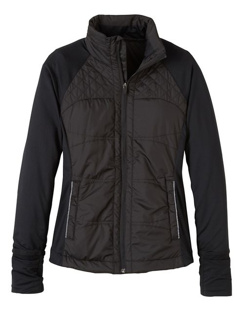 Womens prAna Velocity Cold Weather Jackets - Black XS