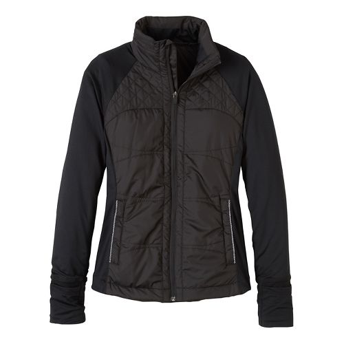 Womens prAna Velocity Cold Weather Jackets - Black XL