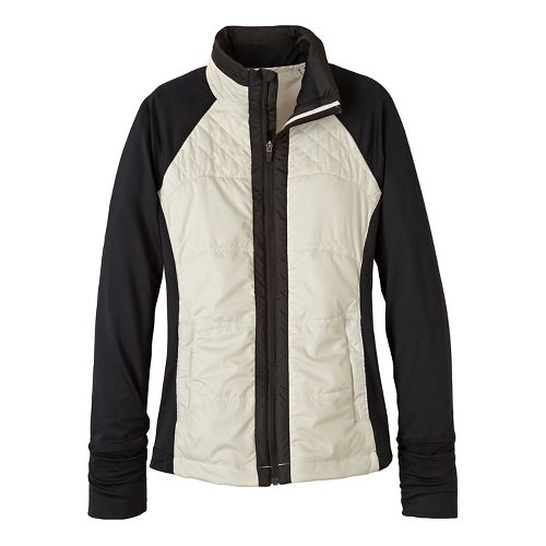 Womens prAna Velocity Cold Weather Jackets - White XS
