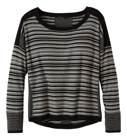 Womens prAna Whitley Sweater Long Sleeve Non-Technical Tops - Black XS