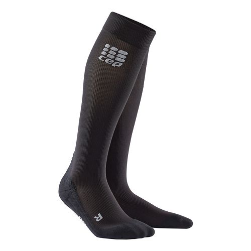 Womens CEP Recovery+ Sock Injury Recovery - Black L