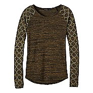 Womens prAna Zanita Long Sleeve Non-Technical Tops