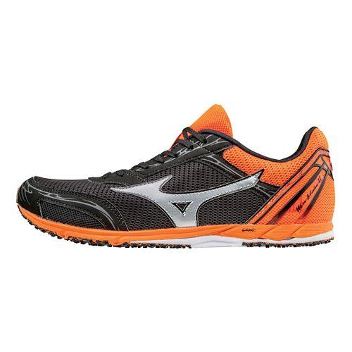 Mizuno Wave Ekiden 11 Racing Shoe - Black/Orange 11