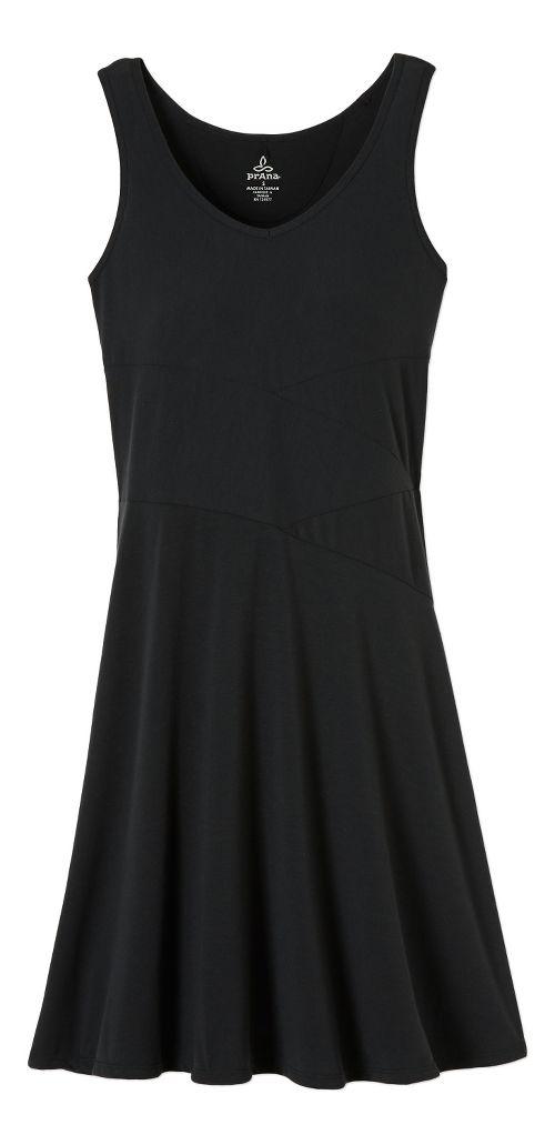 Womens prAna Amelie Dresses - Black L