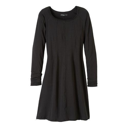 Womens prAna Chrissa Dresses - Black XL