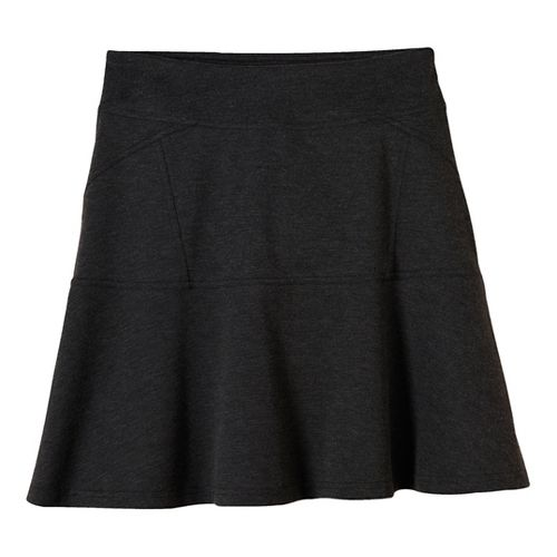 Womens prAna Gianna Fitness Skirts - Black XL