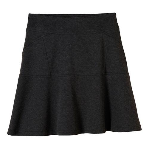 Womens prAna Gianna Fitness Skirts - Black XS