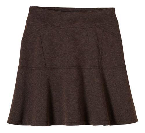 Womens prAna Gianna Fitness Skirts - Brown M