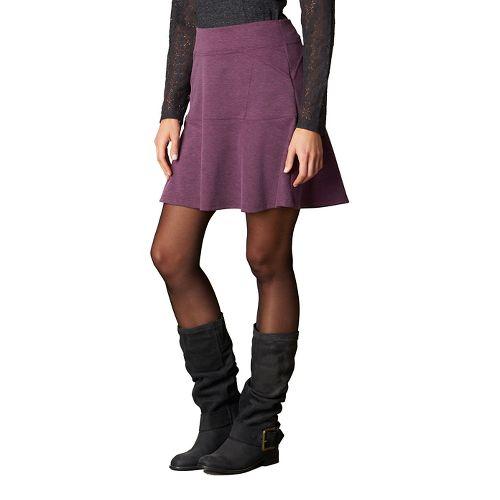 Womens prAna Gianna Fitness Skirts - Red M