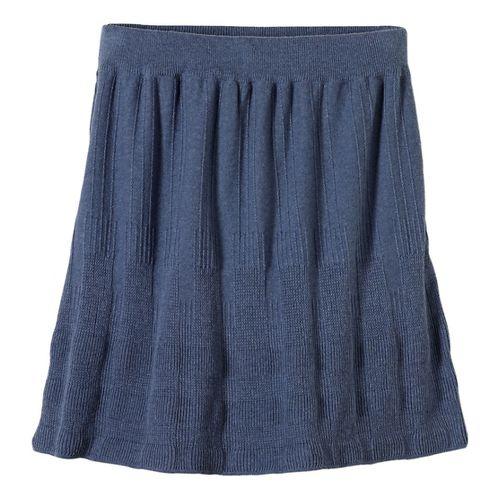 Womens prAna Harper Fitness Skirts - Grey L