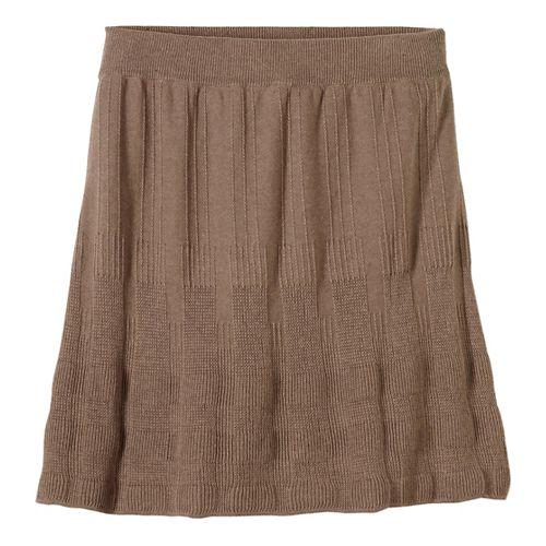 Womens prAna Harper Fitness Skirts - Brown XS